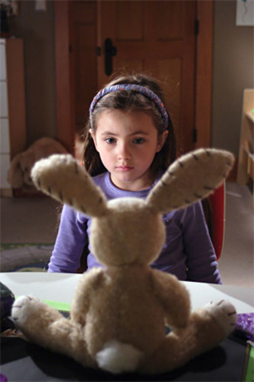 Emma (Rhiannon Leigh Wryn): The rabbit is no ET.