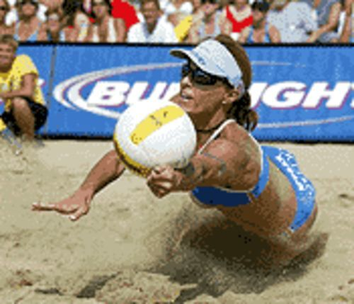 Do people watch women's pro volleyball for the athleticism or the uniforms?