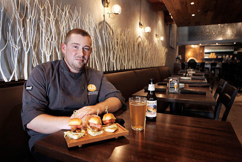 Chef Whitestone gives a nod to local ingredients.