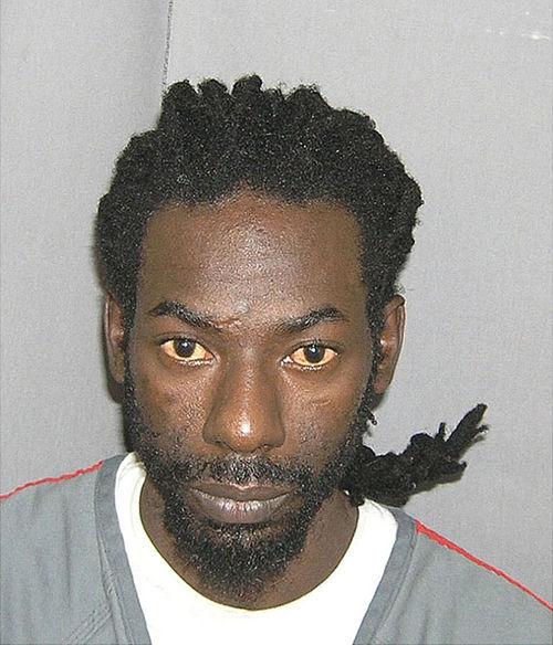 Buju's mug shot after he was arrested at his Tamarac duplex in December 2009.