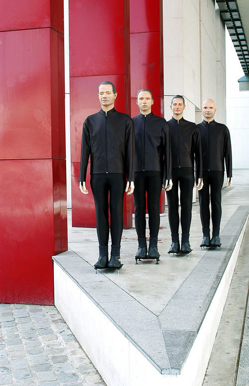 Kraftwerk will be all dolled up for the show.
