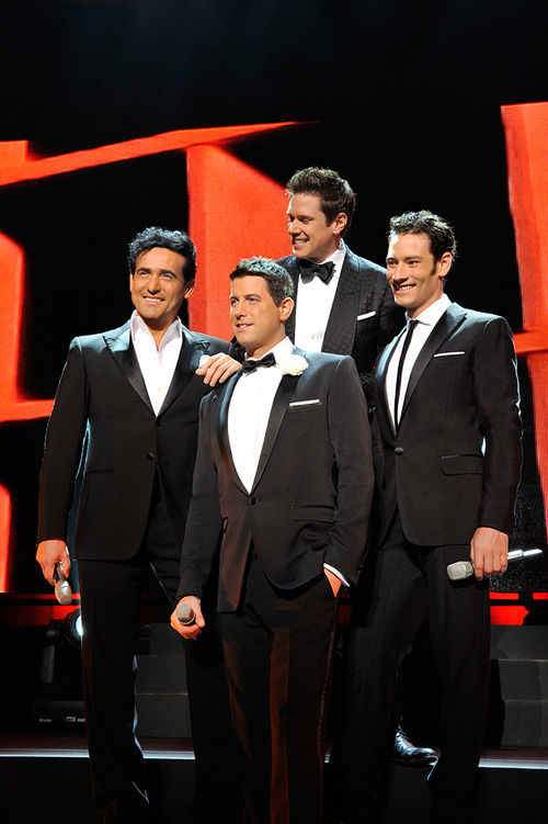 The dapper blokes of Il Divo.