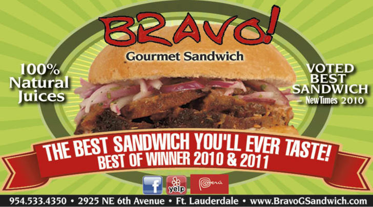 Bravo Gourmet Sandwich