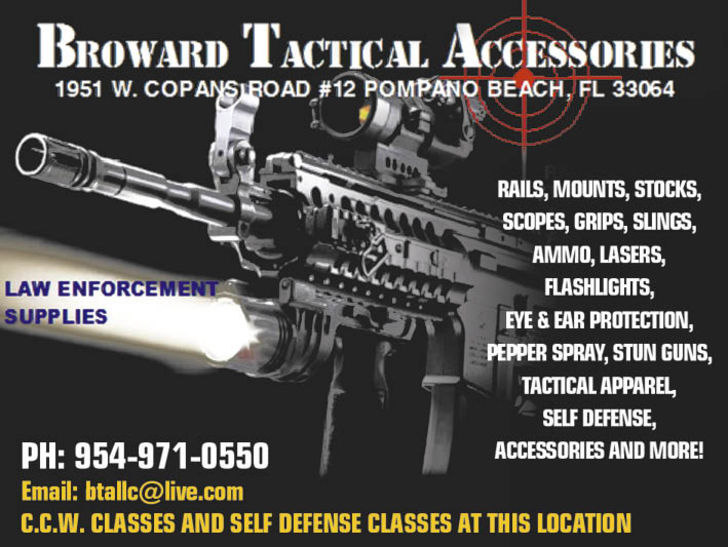 Broward Tactical Accessories