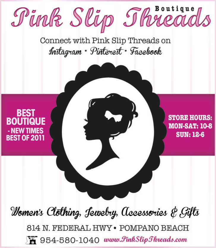 Pink Slip Threads Boutique