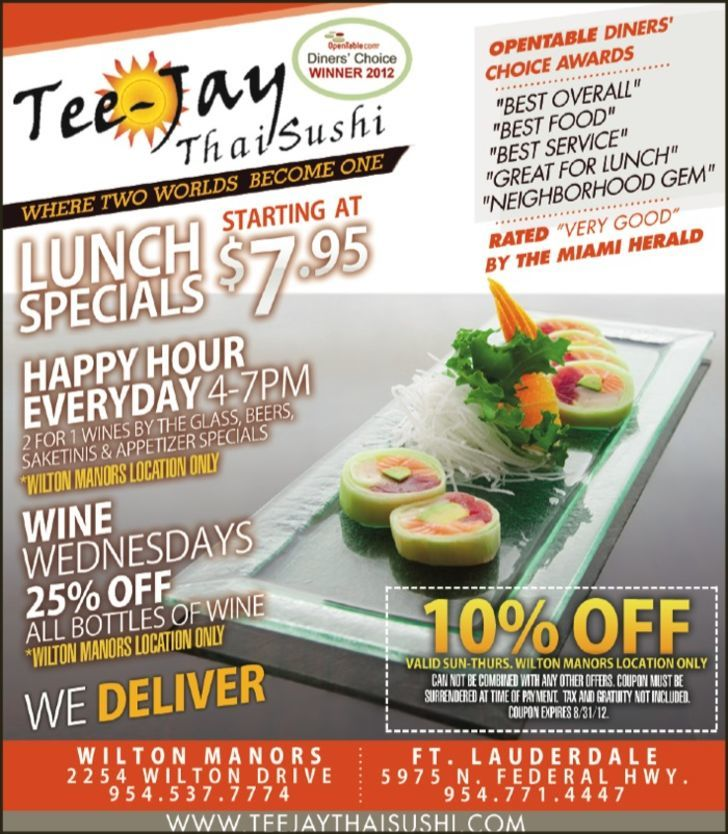 Tee-jay Thai Sushi