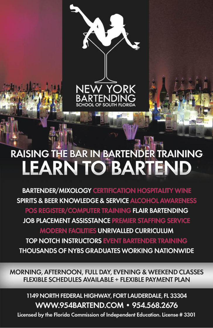 New York Bartending School