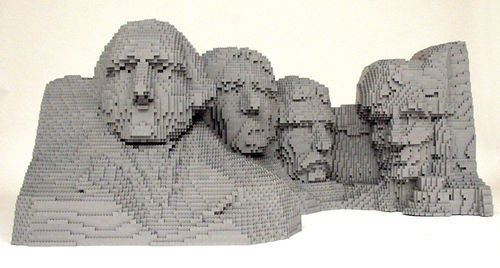 Mount Rushmore goes to LEGOLAND.