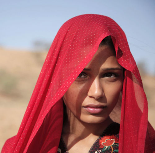 Freida Pinto as Trishna.