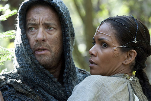 Tom Hanks and Halle Berry in Cloud Atlas.