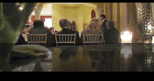 A clip from the video shows Romney's pretty side.