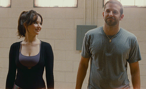 Jennifer Lawrence and Bradley Cooper star in Silver Inings Playbook.