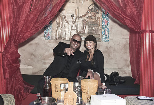 DJ Laz and his wife, Joette, have been married 11 years.