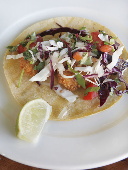Fish taco Baja-style: A bit past its prime?