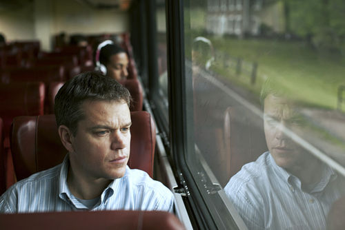 Matt Damon stars in Promised Land.