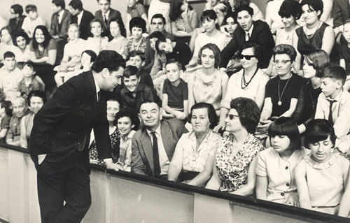 Don Francisco captivated young and old on Sábados Gigantes in 1962, the show's inaugural year.