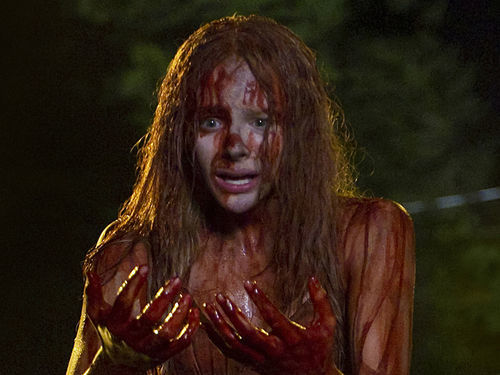 Chloë Grace Moretz stars in Carrie, opening March 15.