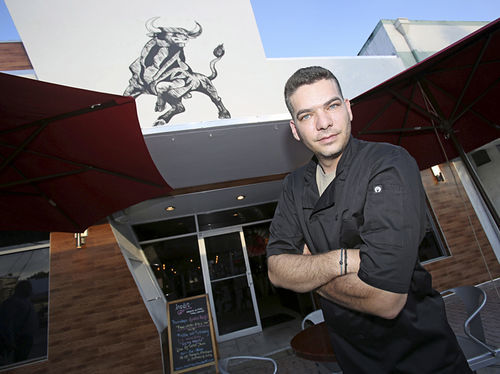 Luis Varela, co-owner and executive chef of Inedit Restaurant, has worked in kitchens in Galicia and Barcelona.