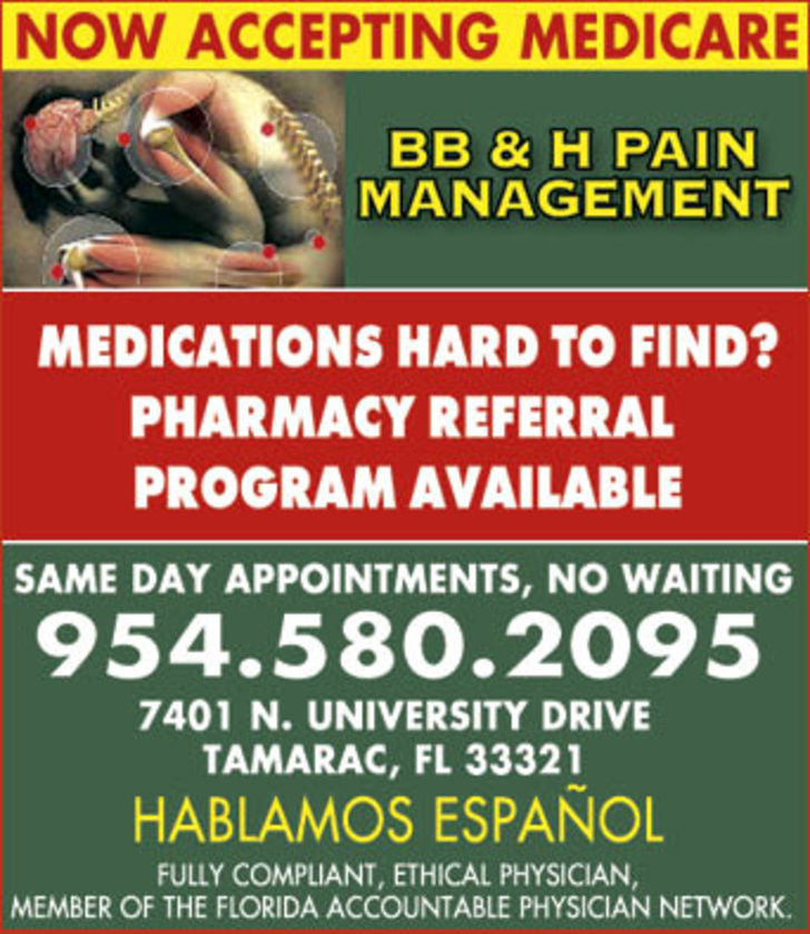 BB & H Pain Management, LLC
