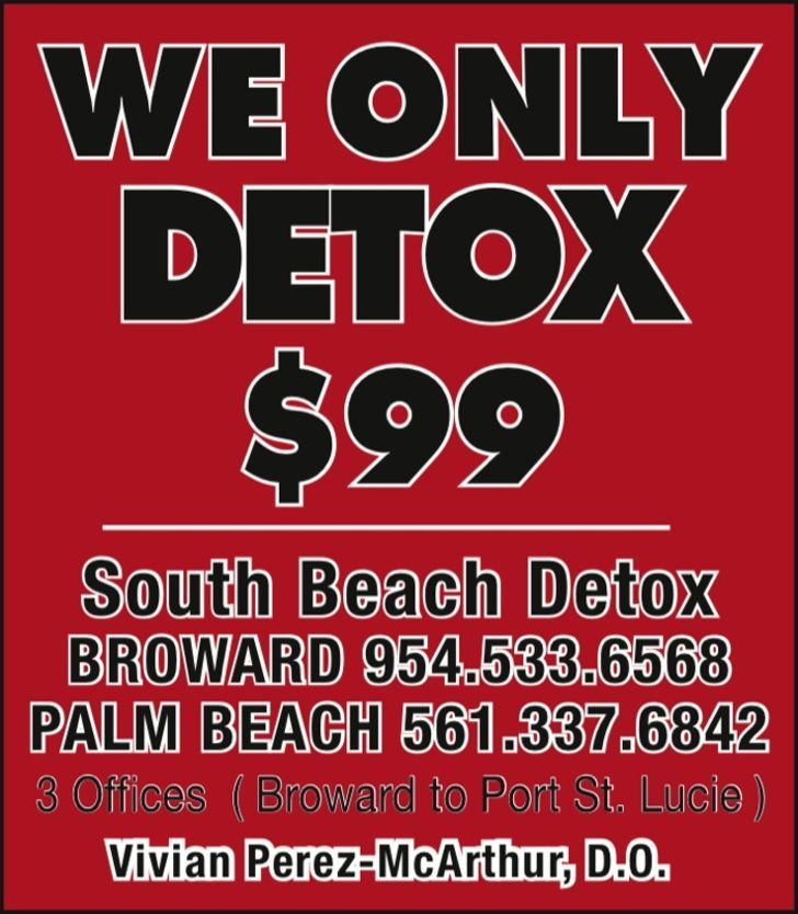 SOUTH BEACH DETOX