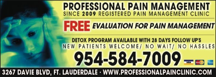 Professional Pain Management