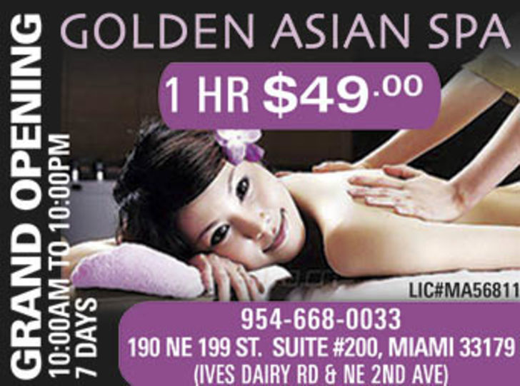 Golden Asian Spa