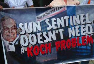 "Activists Say No to ""Koch Problem"""