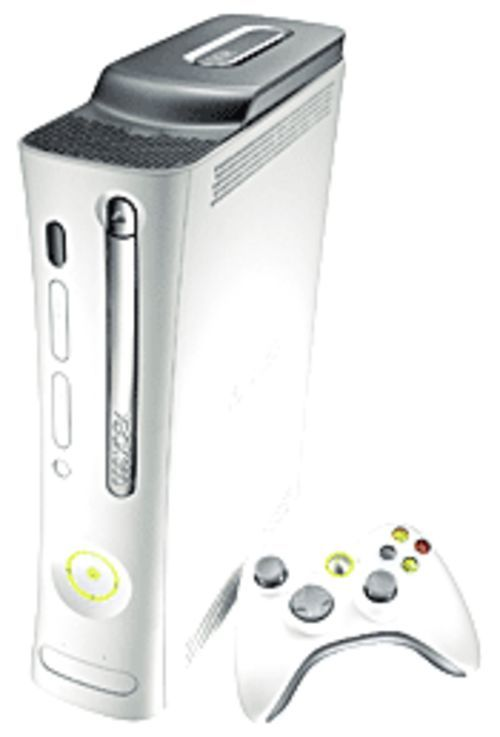 Meet the Xbox 360, Microsoft's latest attempt to monopolize fun.