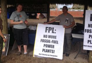 Seminole Tribe Protests FPL for Earth Day