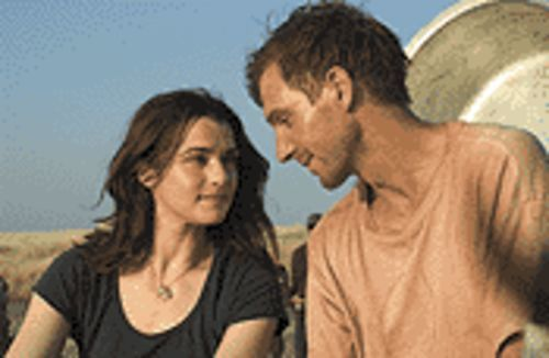 Weisz and Fiennes: Human rights activist plus upright diplomat equals a hyped-up thriller?
