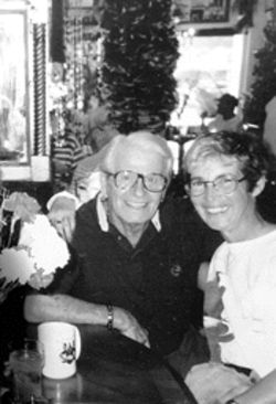 When Harry Rogers (pictured with an unidentified woman) died in June, he left behind a financially troubled Fort Lauderdale institution