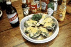 The only thing better than Calypso's oysters Rockefeller is washing them down with an island brew