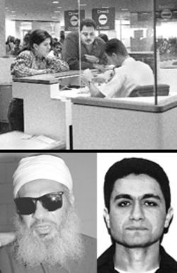 Immigrants sometimes negotiate with inspectors. Below are two who were successful: Sheik Omar Abdel Rahman and Mohamed Atta.