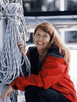 Christine Kling clings to the sailor's lifestyle.
