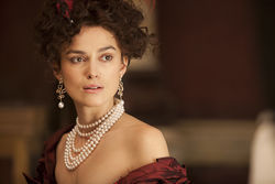 Keira as Anna: Glamorous.