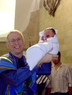 Michael Andron, a Jewish mohel, has circumcised thousands of babies.