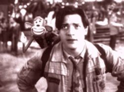 Which is the monkey, which the organ grinder? Brendan Fraser and pal in Monkeybone.