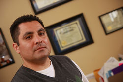 Eduardo Beckett, attorney for the El Paso nonprofit Las Americas Immigrant Advocacy Center, is leading the legal battle to help innocent Mexicans caught up in drug violence gain asylum and protection in the United States.