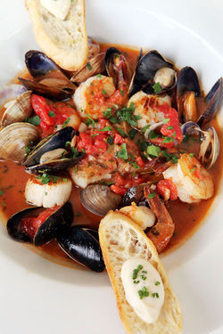 Zuppa de pesce ($30): Hey, where's the pasta?!
