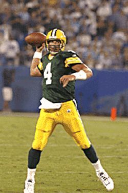Brett Favre leads the Packers against Chicago's finest.