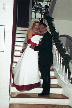 Susana and Victor on their wedding day