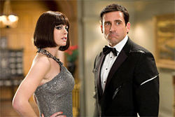 Hathaway and Carell: Would you believe... the movie's funny?