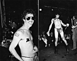 """Little Dickie Evans"" does his Wendy O. impersonation."