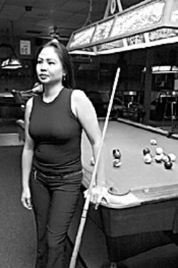 Ming Ng spends four to six hours a day perfecting her game.