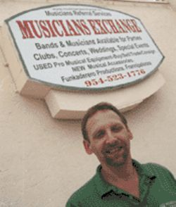 Don Cohen surveys Broward's musical landscape from his Musicians Exchange vantage point