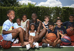 In Pembroke Pines, kids get free lessons from a hoops legend.