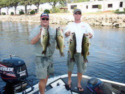 Jimmy McMillan (left) was a champion bass fisherman and owner of the store his family had run for generations.
