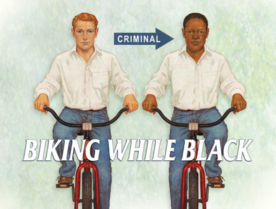 Biking While Black Is a Crime