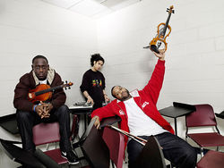 Hip-hop meets classical in Black Violin.