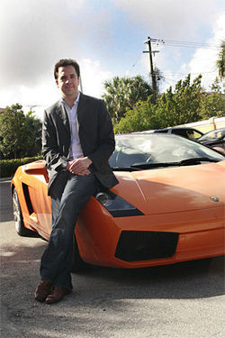 Noah Lehmann-Haupt is the MIT-educated wunderkind CEO of Gotham Dream Cars.